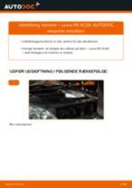 Udskiftning af Bremsekaliber rep sæt på FIAT DOBLO Platform/Chassis (263) - tip og tricks