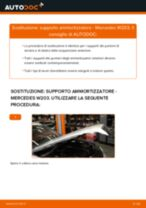 Cambio Kit riparazione pinza freno MERCEDES-BENZ da soli - manuale online pdf