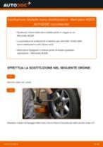 Impara a risolvere il problema con Biellette Barra Stabilizzatrice posteriore e anteriore MERCEDES-BENZ