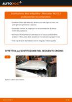 Montaggio Filtro aria abitacolo MERCEDES-BENZ C-CLASS (W203) - video gratuito