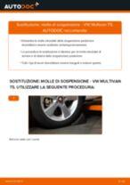 Come cambiare molle di sospensione della parte posteriore su VW Multivan T5 - Guida alla sostituzione