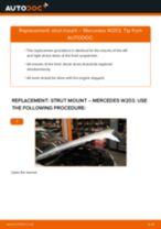 Auto mechanic's recommendations on replacing MERCEDES-BENZ Mercedes W203 C 180 1.8 Kompressor (203.046) Anti Roll Bar Links