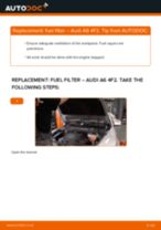 Step by step PDF-tutorial on Windscreen Wiper Arm CLK C209 replacement