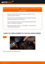 DIY SAAB change Sway bar bushes - online manual pdf