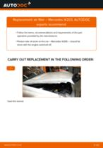 DIY manual on replacing MERCEDES-BENZ S-Class Air Filter