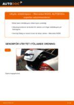 Byta stötdämpare bak på Mercedes W203 – utbytesguide