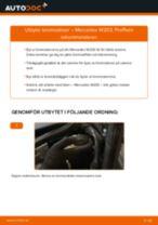 Byta Lagring Hjullagerhus MERCEDES-BENZ själv - online handböcker pdf