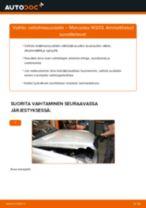 Kuinka vaihtaa raitisilmasuodatin Mercedes W203-autoon – vaihto-ohje