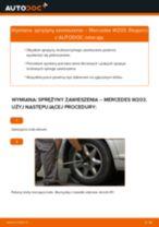 Jak wymienić sprężyny zawieszenia tył w Mercedes W203 - poradnik naprawy
