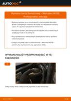 Jak wymienić tarcze hamulcowe tył w Mercedes W203 - poradnik naprawy