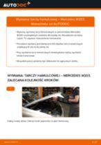 Jak wymienić tarcze hamulcowe przód w Mercedes W203 - poradnik naprawy