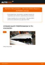 Jak wymienić filtr powietrza w Mercedes W203 - poradnik naprawy