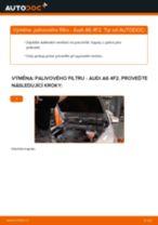 Doporučení od automechaniků k výměně AUDI Audi A6 C5 Avant 1.9 TDI Palivový filtr