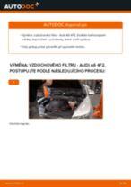 Podrobné PDF tutoriály, jak vyměnit Vzduchovy filtr na autě AUDI A6 (4F2, C6)