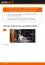 Manual online sobre a substituição de Filtro de Ar em OPEL ZAFIRA B (A05)