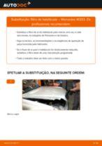Recomendações do mecânico de automóveis sobre a substituição de MERCEDES-BENZ Mercedes W203 C 180 1.8 Kompressor (203.046) Filtro de Óleo