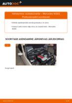 PDF asendamise juhend: Süüteküünal MERCEDES-BENZ C-klass Saloon (W203)
