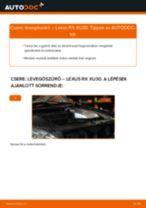 Lépésről-lépésre PDF-útmutató - Rover 600 RH Összekötőrúd csere