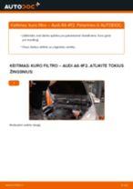 Kaip pakeisti Guolis, rato guolio korpusas BMW E39 Touring - instrukcijos internetinės