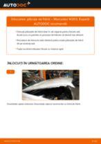 Cum să schimbați: plăcuțe de frână din spate la Mercedes W203   Ghid de înlocuire