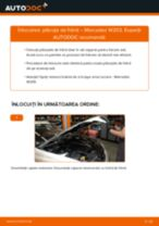Cum să schimbați: plăcuțe de frână din față la Mercedes W203   Ghid de înlocuire