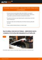 Cum să schimbați: discuri de frână din față la Mercedes W203   Ghid de înlocuire