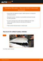 Cum să schimbați: filtru polen la Mercedes W203   Ghid de înlocuire