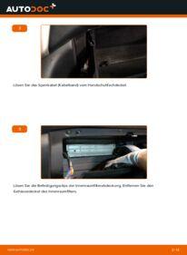Wie der Wechsel durchführt wird: Innenraumfilter 3.3 400h AWD Lexus RX XU30 tauschen