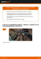 Bilmekanikers rekommendationer om att byta RENAULT Renault Kangoo kc01 1.4 Fjädrar