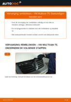 Tips van monteurs voor het wisselen van VW VW Multivan T5 2.0 TDI Remklauw