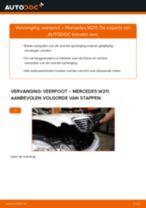 Wanneer Veerpoot MERCEDES-BENZ E-CLASS (W211) veranderen: pdf tutorial