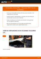 Gratis handleiding voor het Cabine filter vernieuwen MERCEDES-BENZ E-CLASS (W211)