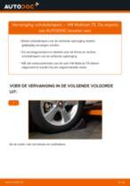 Tips van monteurs voor het wisselen van VW VW Multivan T5 2.0 TDI Schokbrekers