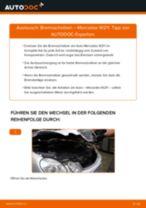 Bremsscheiben hinten selber wechseln: Mercedes W211 - Austauschanleitung