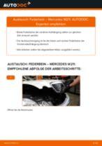 Wie Federbein MERCEDES-BENZ E-CLASS auswechseln und einstellen: PDF-Anleitung