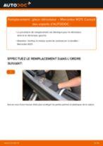 Comment changer : glace rétroviseur sur Mercedes W211 - Guide de remplacement