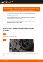 Comment changer : ressort de suspension arrière sur Mercedes W211 - Guide de remplacement