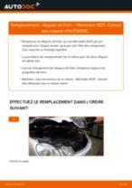 Comment changer : disques de frein arrière sur Mercedes W211 - Guide de remplacement