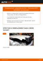 Comment changer : plaquettes de frein avant sur Mercedes W211 - Guide de remplacement
