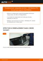 Comment changer et régler Bouchon de carter d'huile VW MULTIVAN : tutoriel pdf