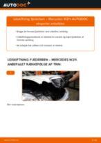 Værkstedshåndbog MERCEDES-BENZ downloade
