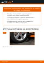 Come cambiare ammortizzatori della parte posteriore su VW Multivan T5 - Guida alla sostituzione