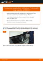 Come cambiare pastiglie freno della parte anteriore su VW Multivan T5 - Guida alla sostituzione