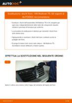 Come cambiare dischi freno della parte anteriore su VW Multivan T5 - Guida alla sostituzione