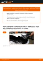 Learn how to fix the MERCEDES-BENZ Shock Absorber front trouble