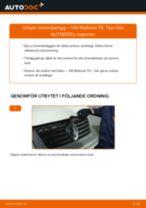 Byta bromsbelägg fram på VW Multivan T5 – utbytesguide
