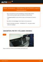 Byta bromsskivor fram på VW Multivan T5 – utbytesguide