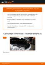 endring Bremseskiver i MERCEDES-BENZ E-CLASS (W211) – tips og triks