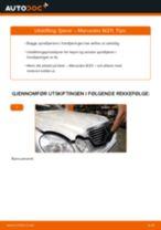 Skifte Fjæring MERCEDES-BENZ E-CLASS: gratis pdf