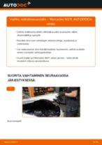 Kuinka vaihtaa raitisilmasuodatin Mercedes W211-autoon – vaihto-ohje